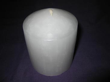 Candle White 100mmx74mm